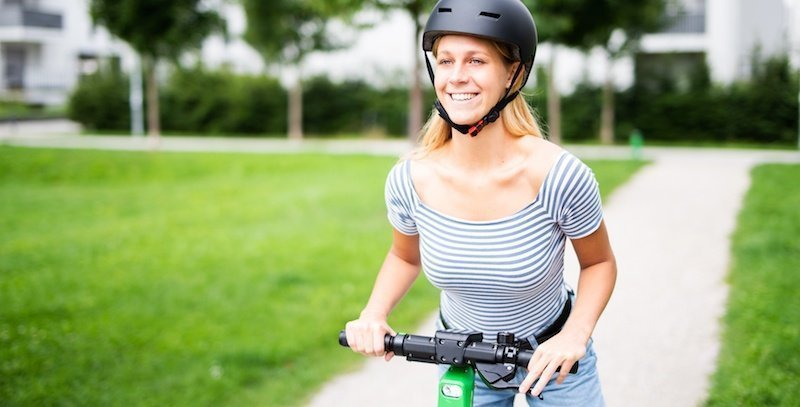 Use Protective Gear When Riding Electric Scooter