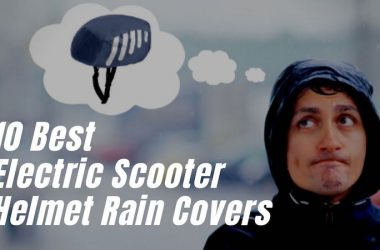 Electric Scooter Helmet Rain Cover