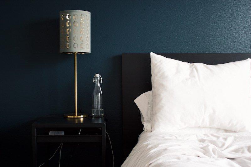 Use sleep-friendly colors to stimulate sleep
