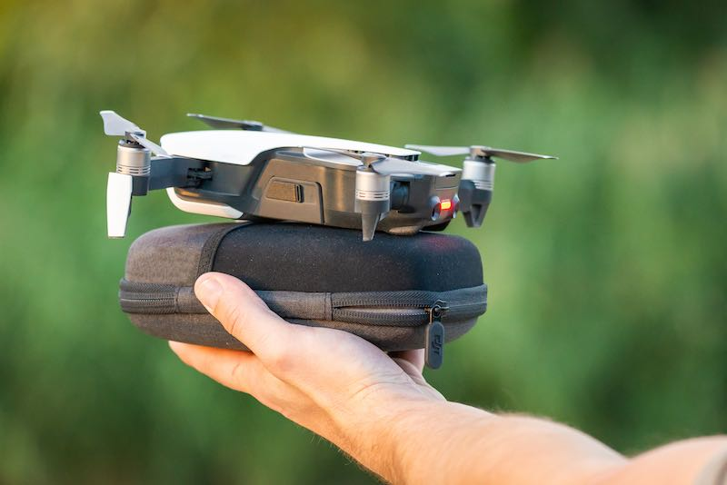 Foldable Drone Ready To Fly