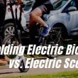 electric scooter and electric folding bike